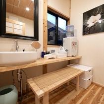 ■榛-hashiba-■ スタイリッシュな洗面所