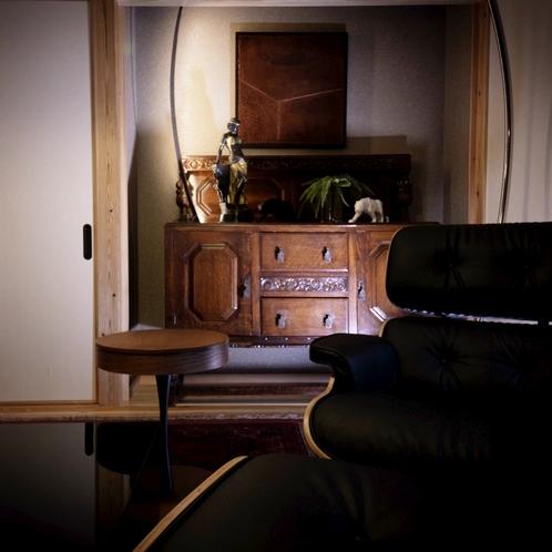 ■榛-hashiba-■ 由布岳を望む離れ特別室。夜は静寂に包まれるプライベートリゾート。