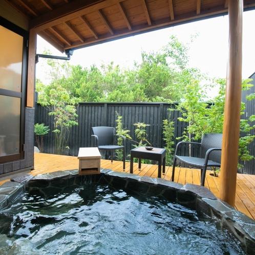 ■錫 -suzu-■ 大人限定・露天風呂付き離れ/湯布院の風を感じながら愉しむ、露天風呂