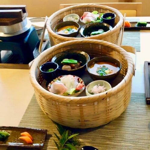 大地の恵みがいっぱいの和食の朝ごはん