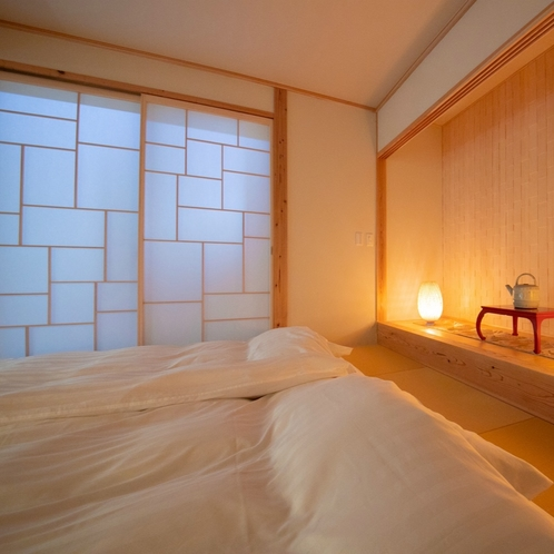 ■麹 -kiku-■ 大人限定・露天風呂付き離れ/和の艶やかさに包まれた心地よい大人の空間