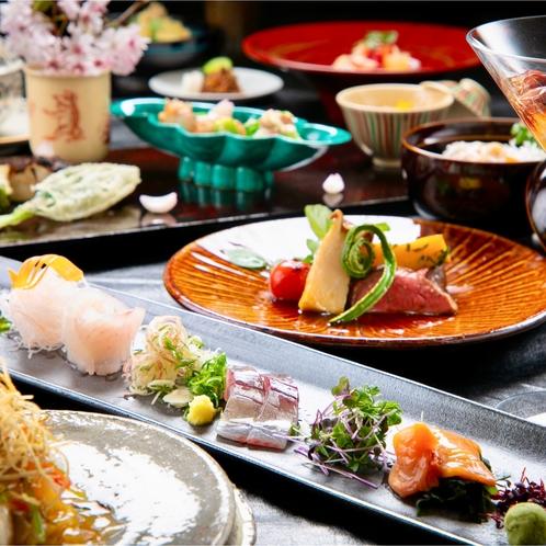 ■DEN RIKYU 会席■~豊後の幸をふんだんに。美味しい大分の恵みをご堪能下さい~