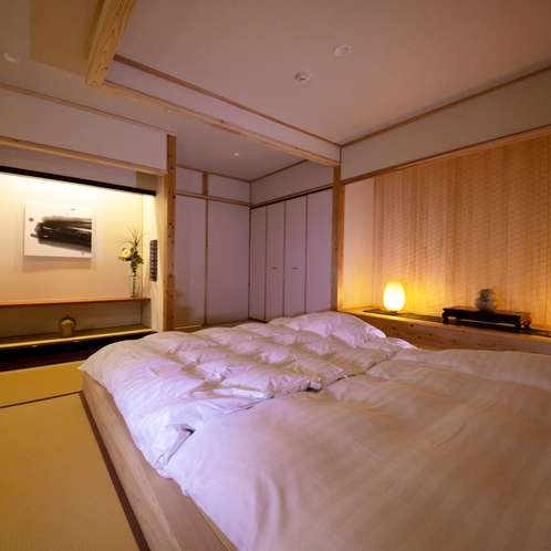 """■緋 -hiki-■ 大人限定・露天風呂付き離れ/新しい""""和""""のスタイルをお楽しみ頂ける和室のお部屋"""