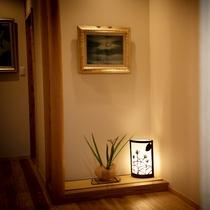 ■緋 -hiki-■ 大人限定・露天風呂付き離れ/玄関とinterior(インテリア)
