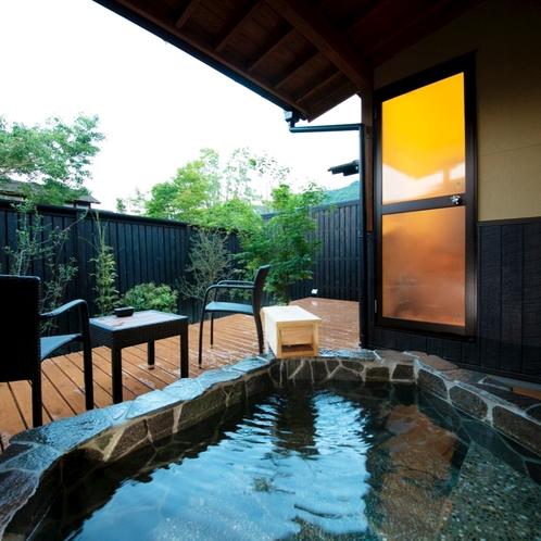 ■緋 -hiki-■ 大人限定・露天風呂付き離れ/全室露天風呂・内湯付き、離れのお部屋で寛ぎのひと時