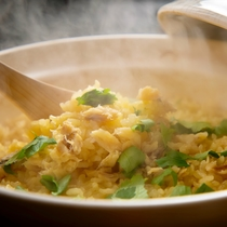 ■旬の味覚■季節の食材を使い、炊き上げる御飯は旨さが格別!