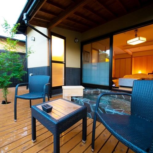 ■緋 -hiki-■ 大人限定・露天風呂付き離れ/由布岳を眺めながら湯の贅をお楽しみ下さい