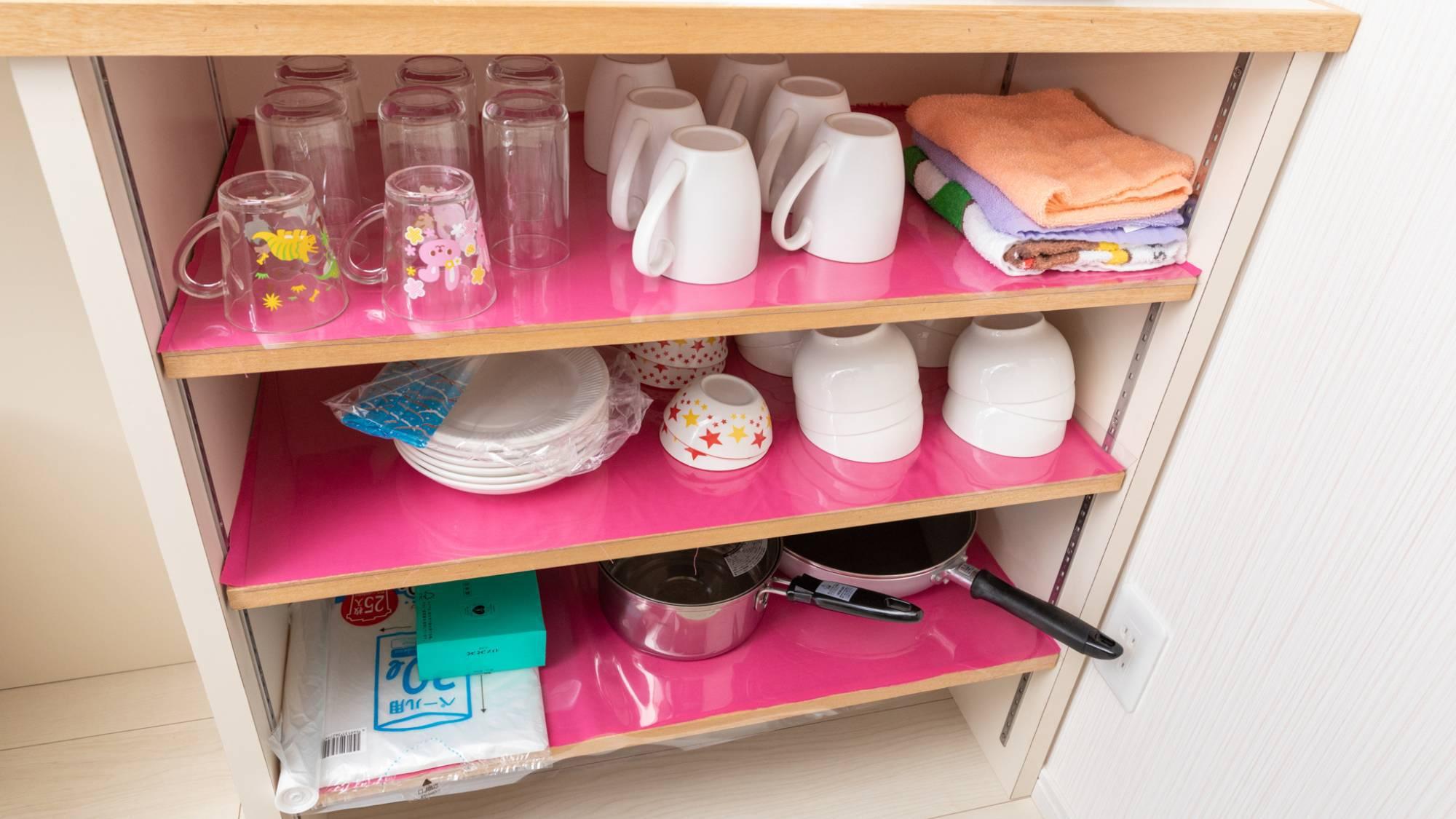 ・必要な食器は完備しております