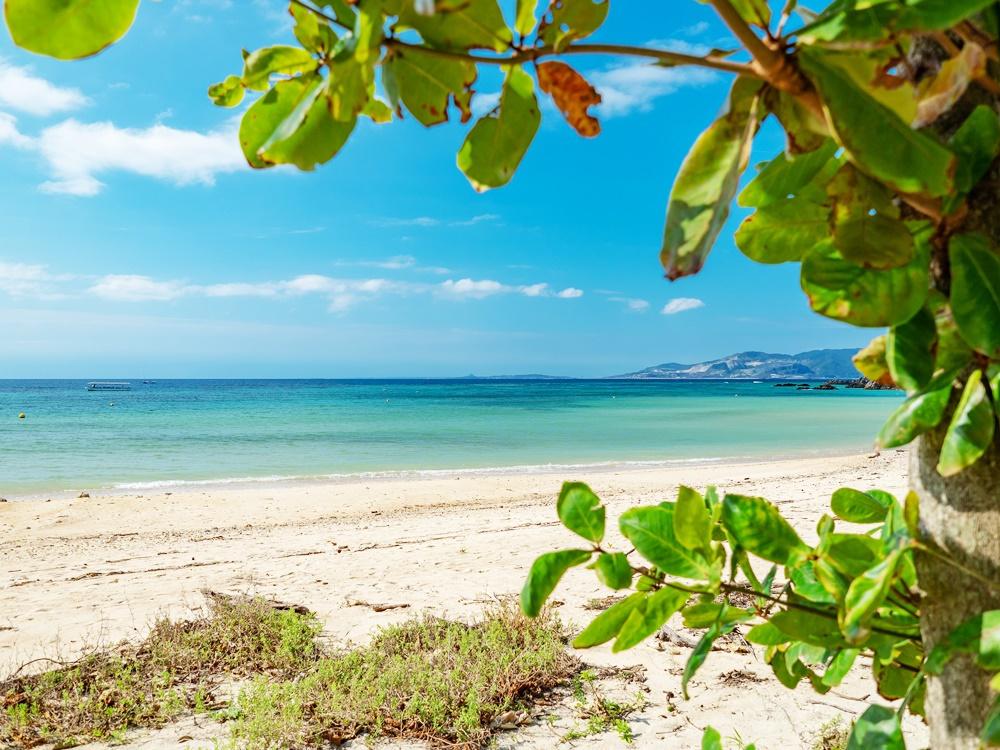 いんぶビーチならホテルから徒歩1分です。