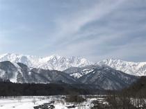 白馬三山(冬季)