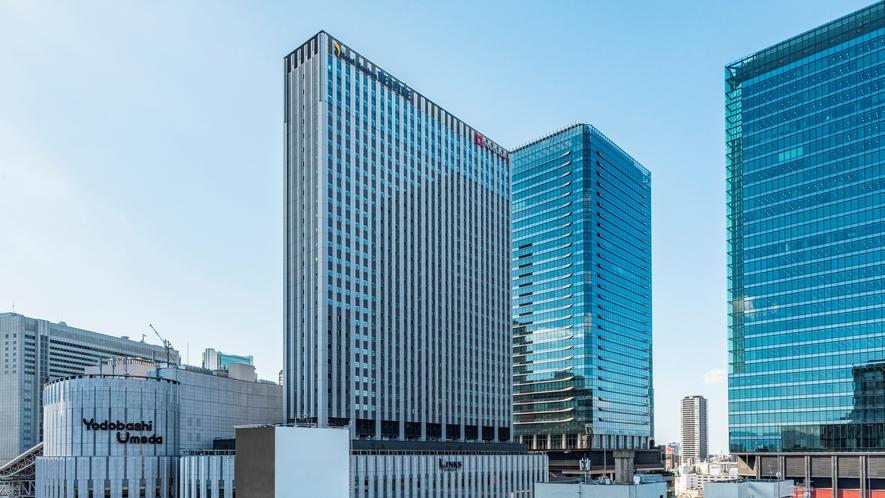 ヨドバシ梅田タワー(リンクス梅田)直上に位置しており、お買い物へもすぐに行けます。