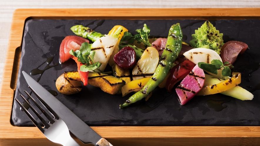 野菜の石窯ロースト
