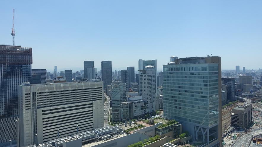 南側高層階客室からの眺望(イメージ)