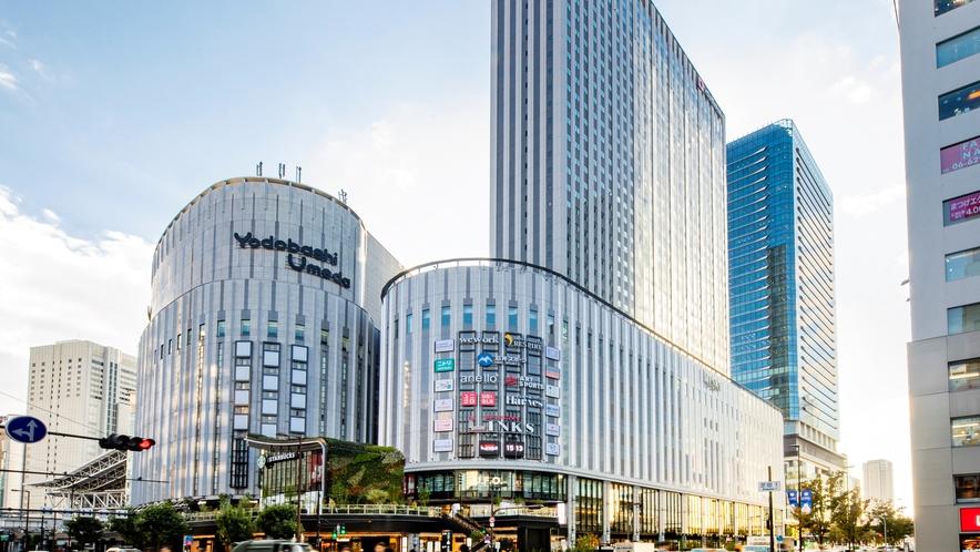 【ヨドバシ梅田タワー】ホテルは9階~35階に位置しております。