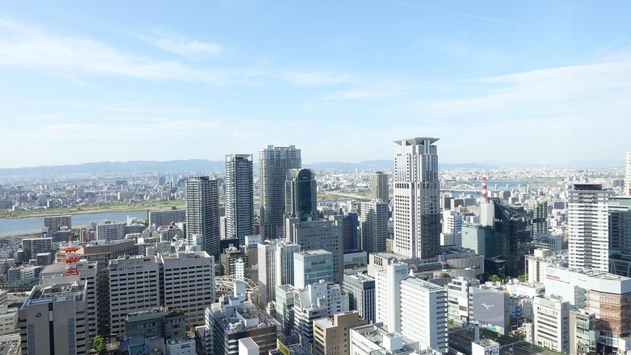 北側高層階客室からの眺望(イメージ)