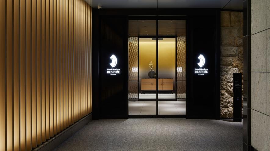 【1階】エントランス(ホテル入口)