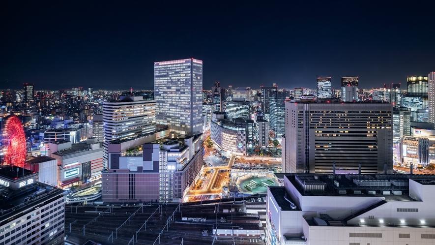 南側高層階客室からの夜景(イメージ)