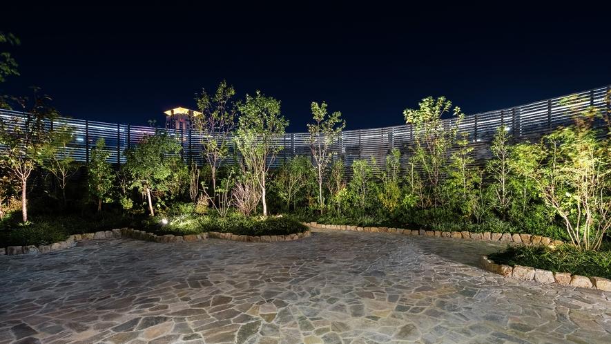 【9階】日本庭園(夜イメージ)