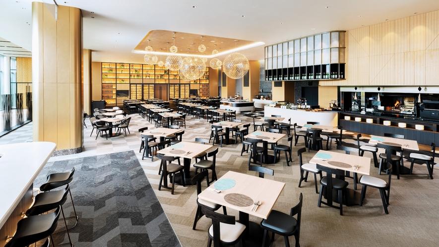 【9階】レストラン「グリリアート クオッカ」店内イメージ(昼)