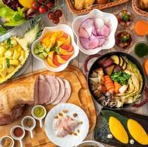 「グリリアート・クオッカ」ならではのイタリアンデリが楽しめる朝食です。