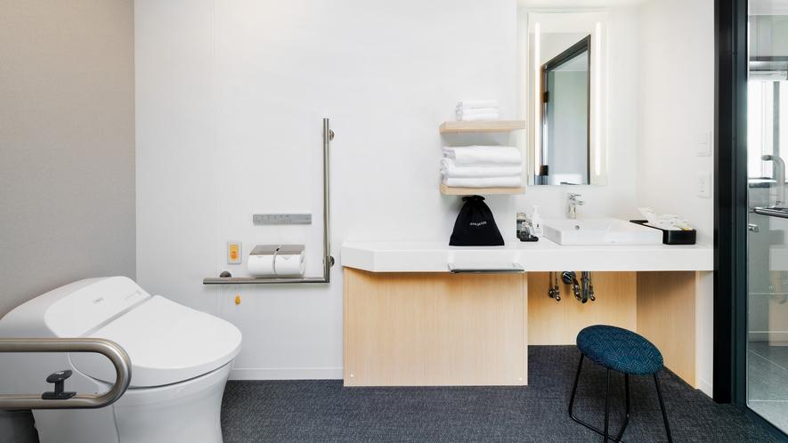 ユニバーサルタイプ ※9階ロビーには多目的トイレを設置しております。