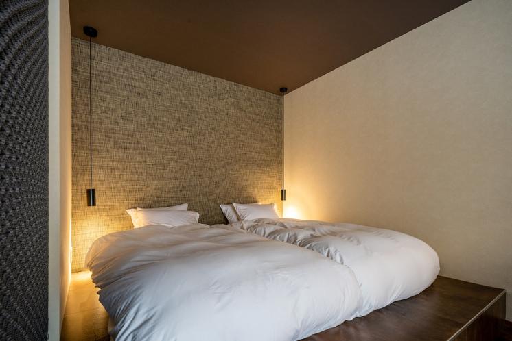 101号室ベッドルーム