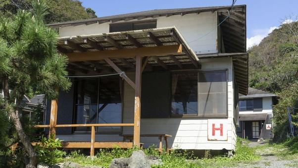西伊豆・堂ヶ島・浮島海岸 10人用1戸建て