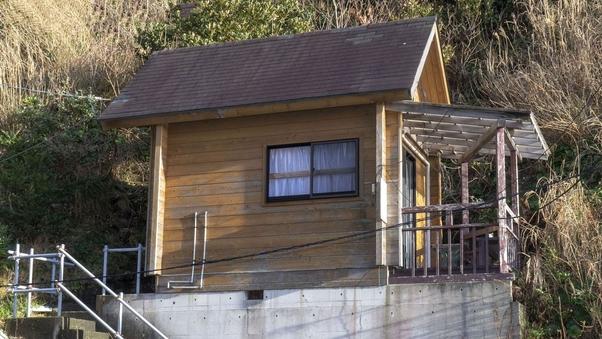 堂ヶ島・浮島海岸 2名用(4名迄可)一戸建てログハウス