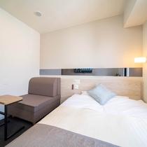 【Smart】座り心地も寝心地も追及したソファーベッドルーム。人数に合わせてベッドが早変わり♪