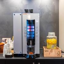 【Organic】挽きたてコーヒーから健康ジュースまで種類豊富なドリンクバー