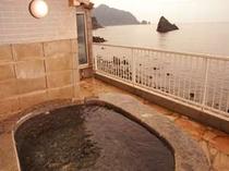 駿河湾を一望できる貸切露天 外風呂 ※シーサイド棟お風呂