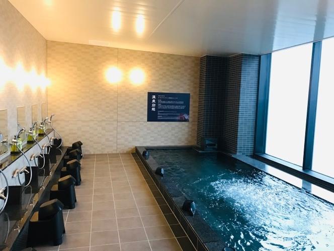神代の湯 中伊豆から天然温泉を提供 男子風呂 内湯