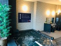 中伊豆からの天然温泉を提供しております。 女子風呂 内湯