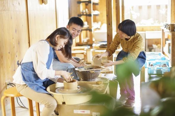 伝統工芸に触れる旅♪やちむん体験割引チケット付き♪<朝食付>