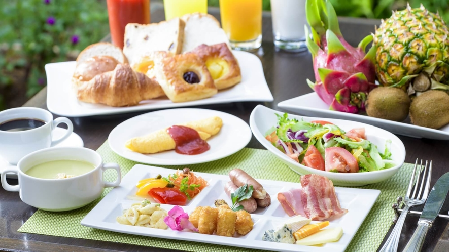 ガーデンレストラン【プランタン】朝食