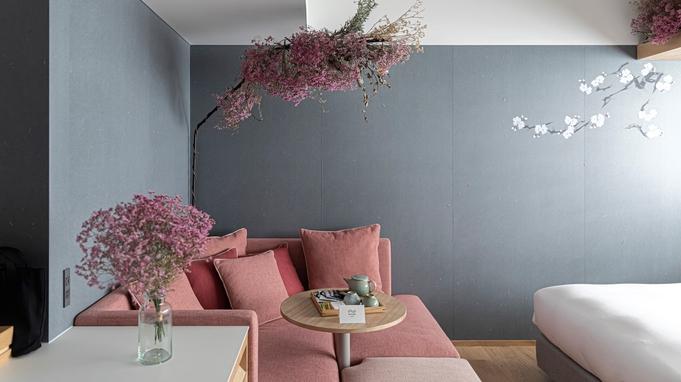 【ピンクのドライフラワーに囲まれて】限定1室★特別なFlower Roomのご予約を♪<朝食付>