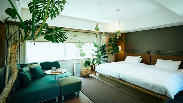 【BOTANICAL ROOM】ガーデンビューツイン