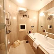 【客室】38平米以上のバスルームにテレビ&洗い場付き