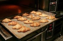 【朝食】焼き立てクロアッサン