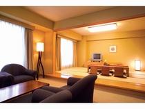 和洋室 和室+リビング 和室は畳9畳