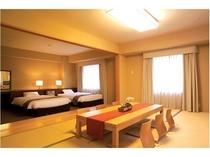 和洋室 和室9畳+ツインルーム
