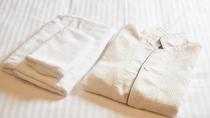 全部屋大人用のパジャマご用意しております