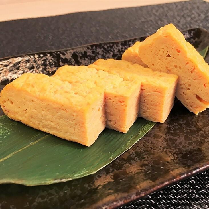【朝食】すすきの店の料理人が焼くだし巻き玉子は絶品です。(一例)