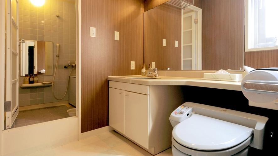 【洋室ツインA】洗面台・トイレットルーム一例
