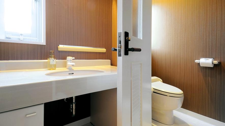 【和洋室】洗面台・トイレットルーム