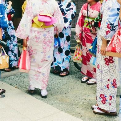 <着物女子旅♪貸出から返却までノーストレス♪>京都の街を華やかにそぞろ歩き♪忙しい女子のために♪