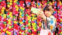 八坂庚申堂はインスタ映えスポット。特に着物を着たら、是非お立ち寄りください。