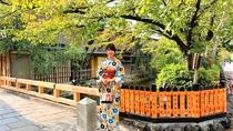 祇園白川(祇園新橋)の巽橋です。京都らしい撮影をしたいなら、是非おススメしたいスポットです。