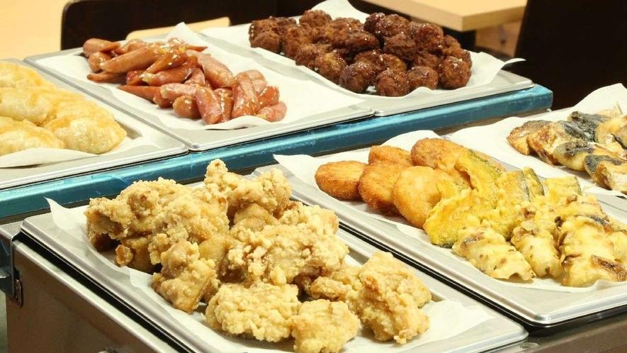 和洋バイキング朝食 一例