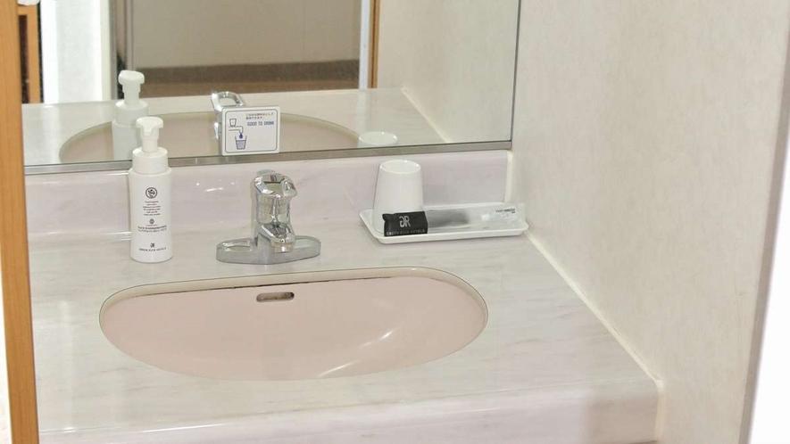 シングルBタイプ 洗面台